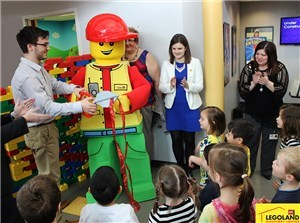 'Merlin's Magic Wand takes the Merlin's Magic Spaces to Easter Seals DuPage and Fox Valley' accompanying image 1